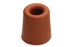 Deurbuffer DX 31x33mm rubber rood