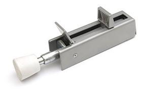 Deurvastzetter voetstift DX 30x122 mm schootuitslag 54 mm deur tot 60 kg zamac bruin
