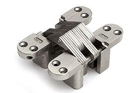 Scharnier SOSS 212 NP 19x095 mm deurdikte ca. 28 mm zamac vernikkeld