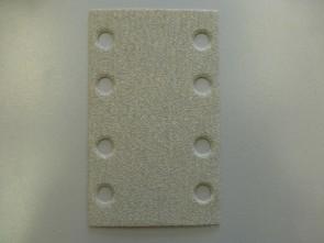 HS Schuurpapier met klittenband Rechthoek  80 x 133 Korrel 150