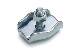 Staaldraadklem simplex 04 mm RVS AISI 316