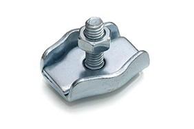 Staaldraadklem simplex 06 mm RVS AISI 316