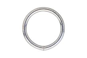 Gelaste ring 030 04 mm verzinkt