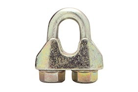 Staaldraadklem gelijkend  EN 13411 5 Type A 6,5 mm verzinkt voorheen DIN 1142