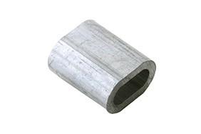 Persklem standaard EN 13411 3 4.0 mm aluminium