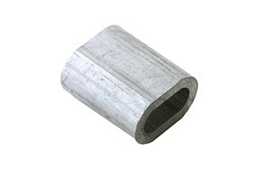 Persklem standaard EN 13411 3 6.5 mm aluminium